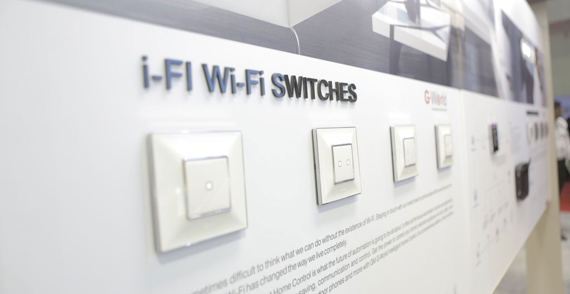 GM Modular launches i-Fi and i-Touch switches | Electrical & Power ...